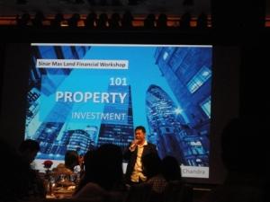 Pak Ishak menceritakan berbagai macam tentang investasi properti