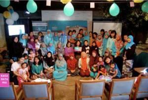 Para peserta berfoto bersama. Sumber Foto : Mia Fauziah
